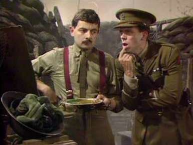 Rowan Atkinson & Hugh Laurie-'Blackadder Goes Forth'