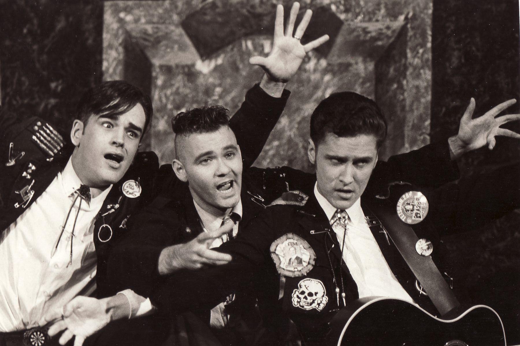 Tim Ferguson, Paul McDermott & Richard Fidler