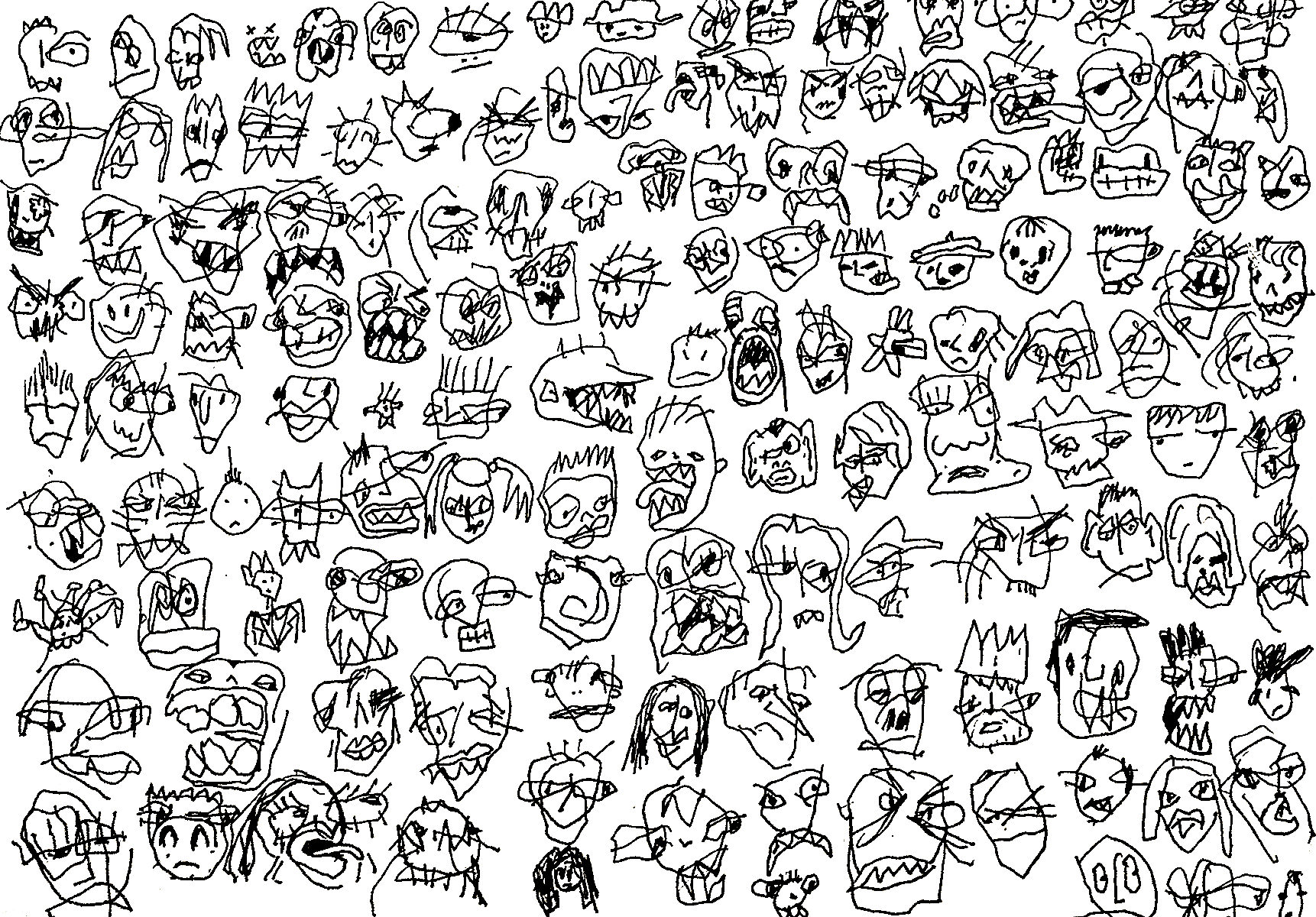 [Faces #11, Minnesota Collection]